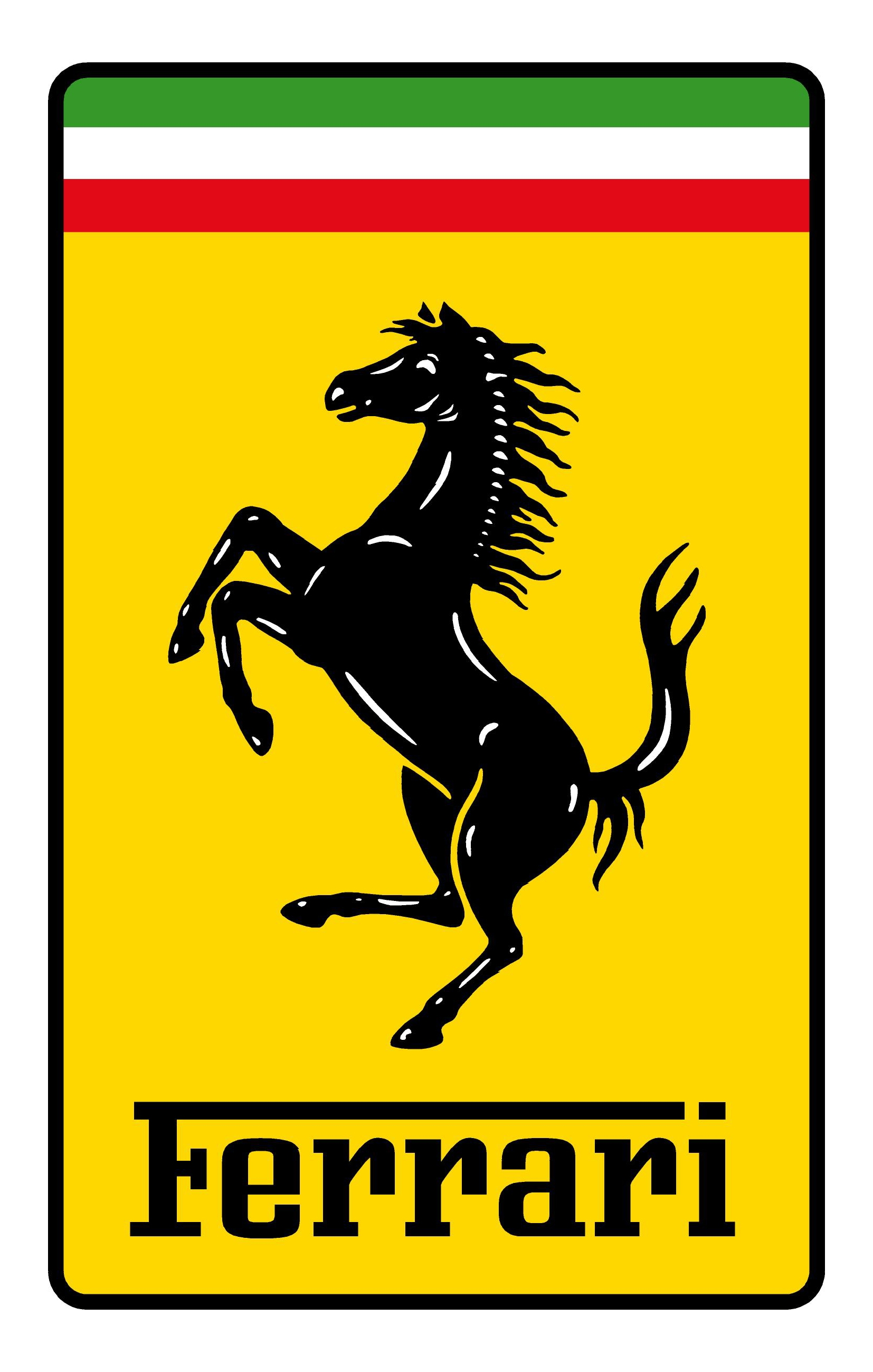 Ferrari logo was the