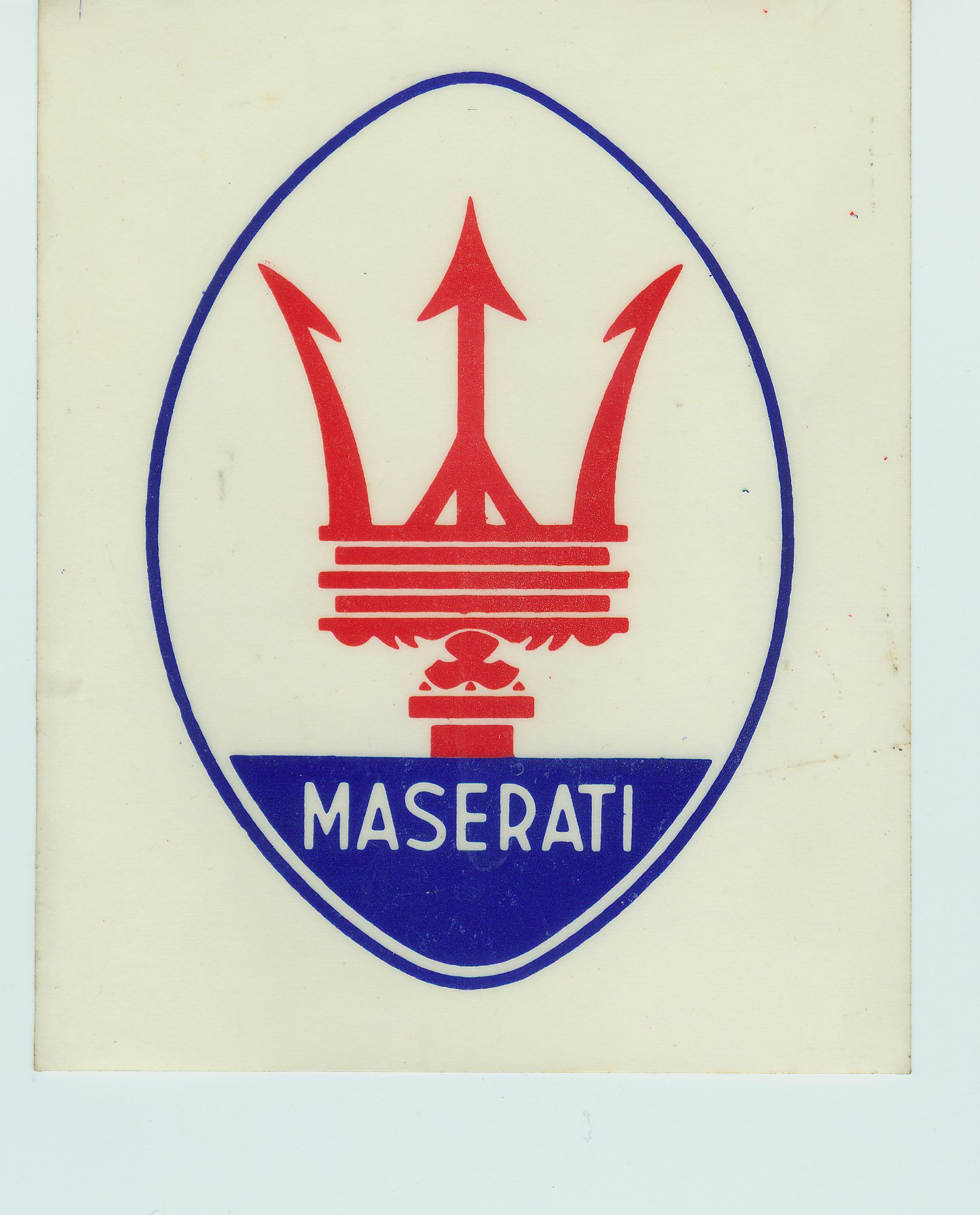 maserati car emblem. Black Bedroom Furniture Sets. Home Design Ideas